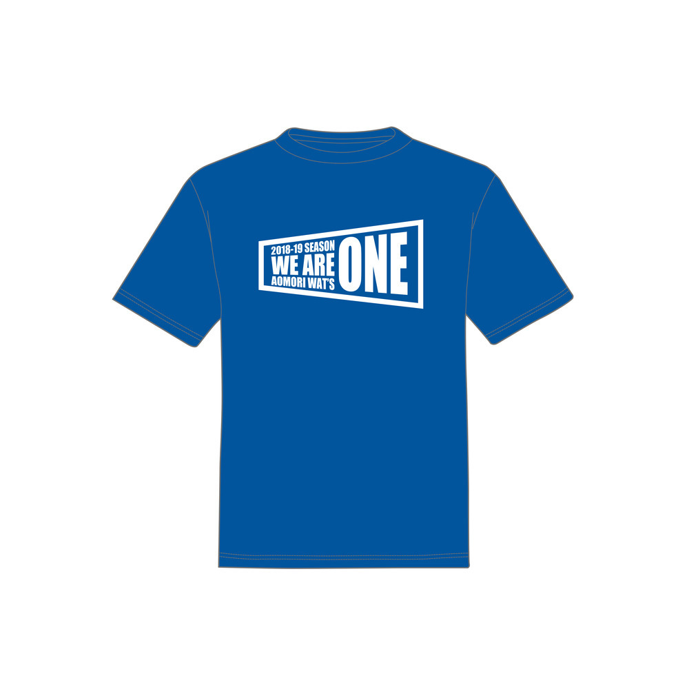 WE ARE ONE Tシャツ 詳細画像 BLUE 1