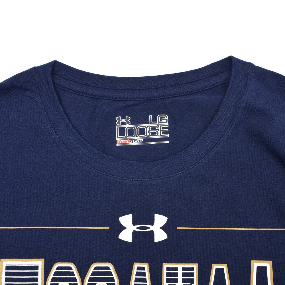 【SALE】:【UNDER ARMOUR (アンダーアーマー)×大阪エヴェッサ】プリントTシャツ(NAVY) 詳細画像 2
