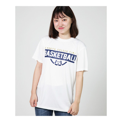 KINGS BASKETBALL Tee(ドライ)WHT